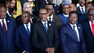 Awọn adari ilẹ Afrika nibi ipade apero ajọ AU