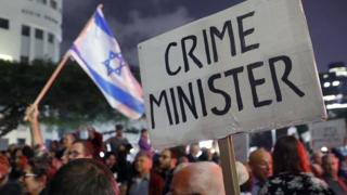 israel, corruption, manifestation, gouvernement, crime