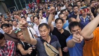 Protestos em 2014
