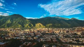 Paisaje de Caracas