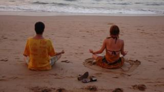Tourists in Goa