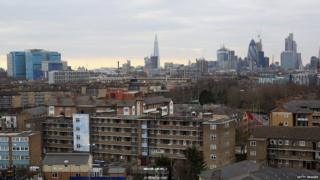 Housing in central London