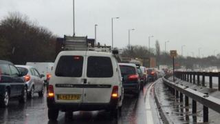 Traffic on the A2