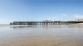 The pier was fully refurbished after a fire in 2010