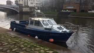 Boat on River Ouse