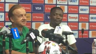 Gernot Rohr na Ahmed Musa