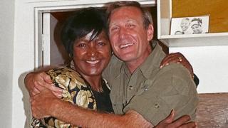 Winnie Mandela and Gary Bedell