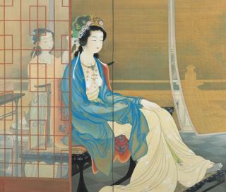 Yang guifei karya Uemura Shōen