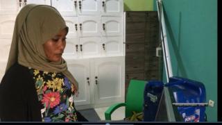 Bouchra Nassir Ousselat est l'une des rares femmes qui ont choisi d'être informaticiennes au Tchad.