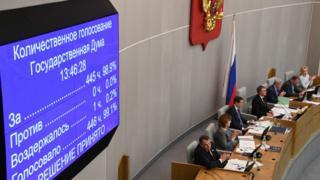 голосование по соглашению о плутонии в Госдуме