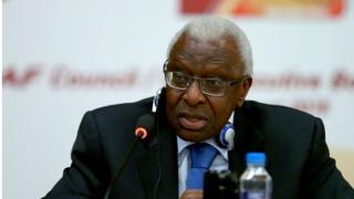 Lamine Diack est un ancien député, ministre et maire de Dakar.