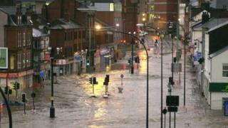 Flooding in Sheffield