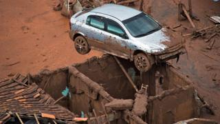 Samarco dam burst aftermath