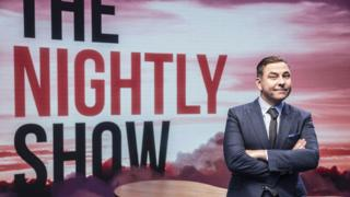 David Walliams on The Nightly Show