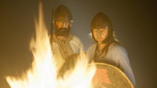 Viking re-enactment