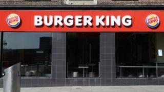 Closed Burger King