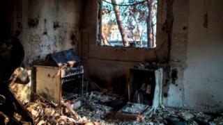 House wey fire burn