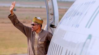 Aworan aarẹ Buhari