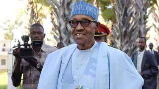 """""""C'est épouvantable que des Nigérians soient vendus comme des chèvres"""", a réagi le chef d'état Nigérian."""