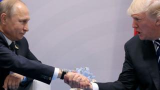دونالد ترامپ و ولادیمیر پوتین