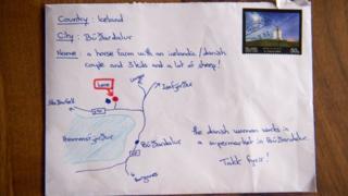İzlanda adressiz mektup