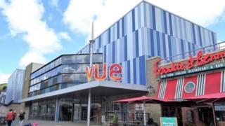Vue cinema in Carmarthen