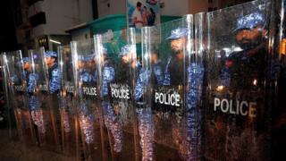 モルディブ警察