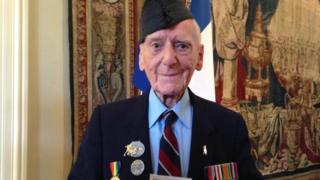 Bernard Morgan, World War Two veteran