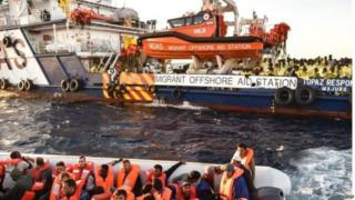 MOAS has rescued 7,826 people in the Mediterranean since April.