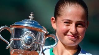 Jelena Ostapenko wins Roland Garros