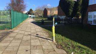 Denham Close motorcyclist death lamppost
