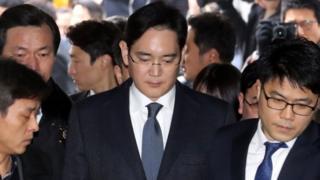 Слідство вважає, що Пані Пак зловживала повноваженнями, діяла в інтересах віце-президента і фактичного глави корпорації Samsung Лі Чже Єна.