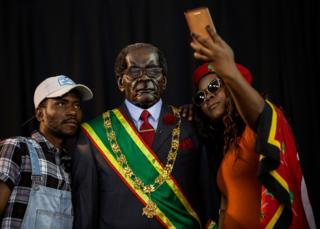A memorial service held in honour of late Zimbabwean President Robert Mugabe in Soweto, Johannesburg on 12 September 2019