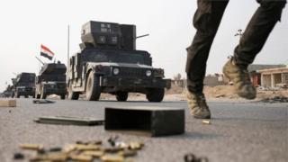 Les forces spéciales irakiennes avancent dans l'est de Mossoul