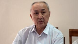Кыргызстандын Тоо-кенчилер жана геологдор ассоциациясынын өкүлү, техника илимдеринин доктору Дүйшөнбек Камчыбеков