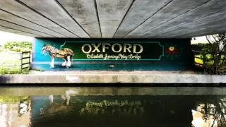 Elizabeth Jennings Way Bridge, Oxford
