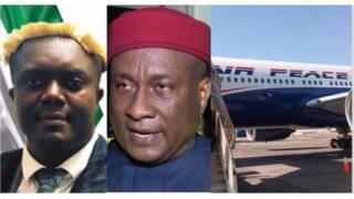 Pascal Agbodike, Allen Onyema na ụgbọelu Airpeace