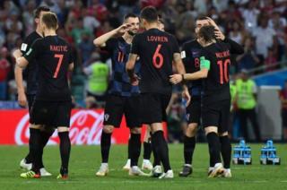 کرواسی باید چهارشنبه آینده با انگلیس در دیدار نیمه نهایی روبرو شود