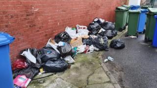 Rubbish in Tameside