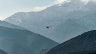29 Ocak'ta Hatay yakınlarında uçan TSK'ya ait bir helikopter