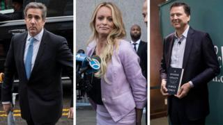 Cohen, Stormy, and Comey