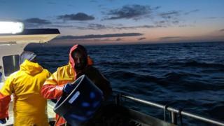 The whelk fishermen