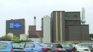 Dale Farm factory in Cookstown, County Tyrone