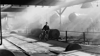 York engine shed in the early 1950s (now the National Railway Museum's Great Hall)