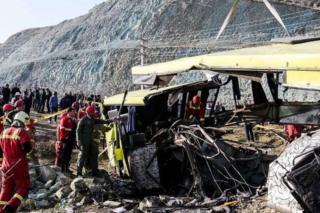 حادثه اتوبوس