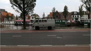 Yn Leeuwarden yn yr Iseldiroedd