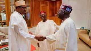 Buhari ebe ọ na ezute Tinubu n'Abuja