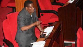Mbunge Stephen Ngonyani maarufu kama Profesa Majimarefu