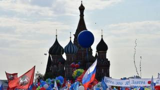 Празднования 1 мая в Москве