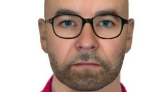 E-fit image of suspect